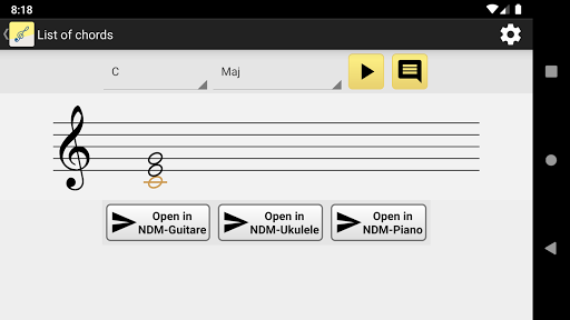NotesDeMusique (Learning to read musical notation) screenshot