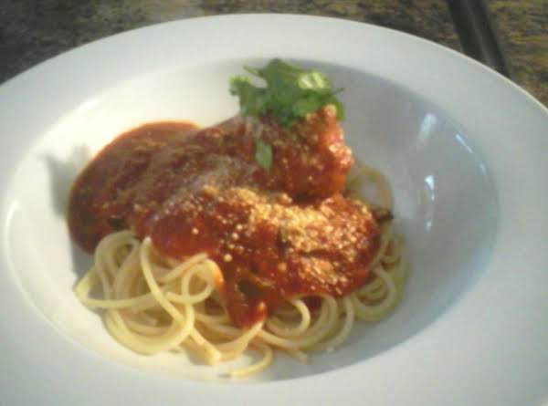 Spaghetti Sauce And Meatballs Recipe