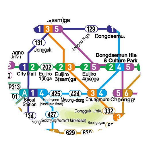 Seoul Subway Map My blog