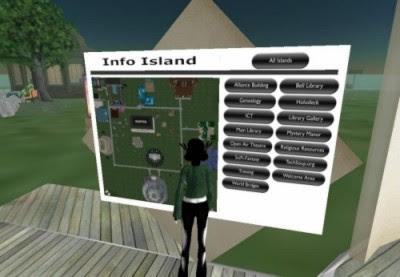 Plan Info Island