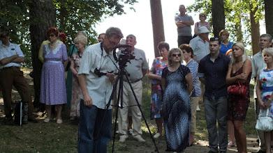 Photo: Šventės ant Rambyno kalno akimirka. Filmuoja Gintautas Stungurys, studija Gin-Dia.