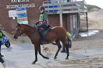 Photo: Karin 2de ronde in Katwijk