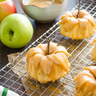 Caramel-Apple Pound Cakelettes