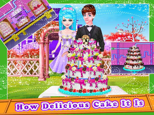 Wedding Cake Maker Factory  screenshots 7