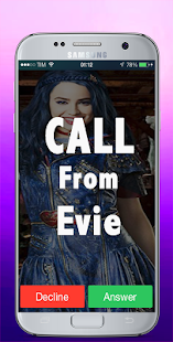 Real Evie Call For Descendants Video 2018 - náhled