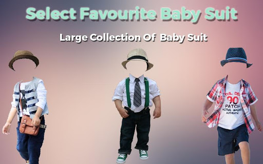 Baby Fashion Photo Suit 1.1 screenshots 4