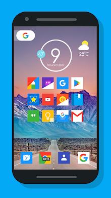 Oreo Square - Icon pack screenshot 2