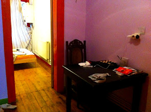 Photo: Our apartment through Airbnb in Beyoglu neighborhood of Istanbul.