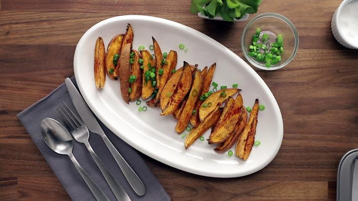 Fat-Free Sweet Potato Fries Recipe