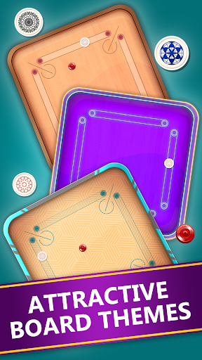 Carrom Disc Pool : Free Carrom Board Game modavailable screenshots 2
