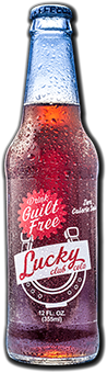 Logo for Excel Bottling Guilt Free Lucky Club Cola