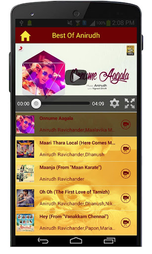 Best Of Anirudh Songs  screenshots 3