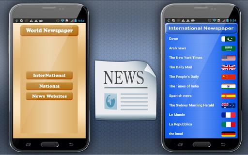 世界のニュース紙