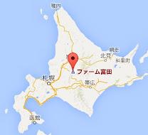 地図:ファーム富田