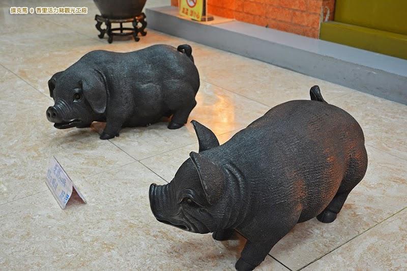 香里活力豬觀光工廠參觀動線