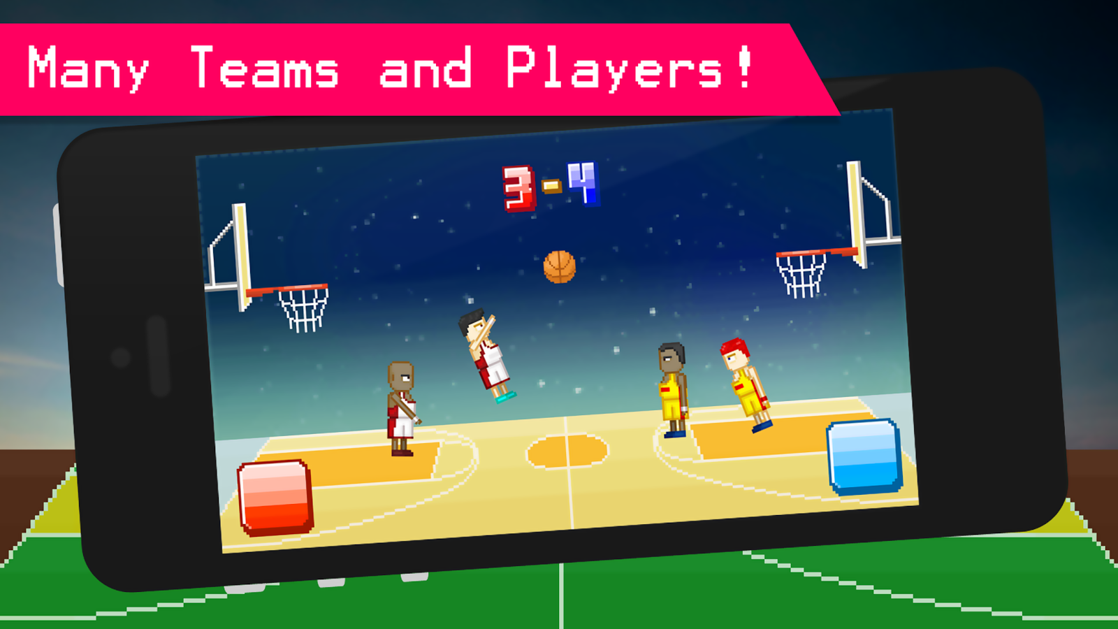 Funny Basketball - 2 Player- screenshot
