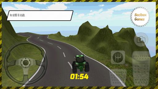 拖拉机爬坡3D游戏