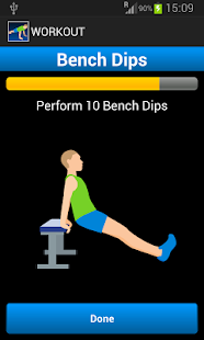 10 Daily Exercises Fitness app screenshot for Android