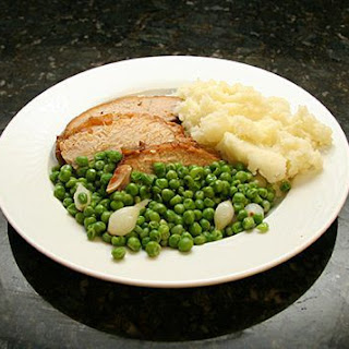 Roast Pork Loin with Applesauce.