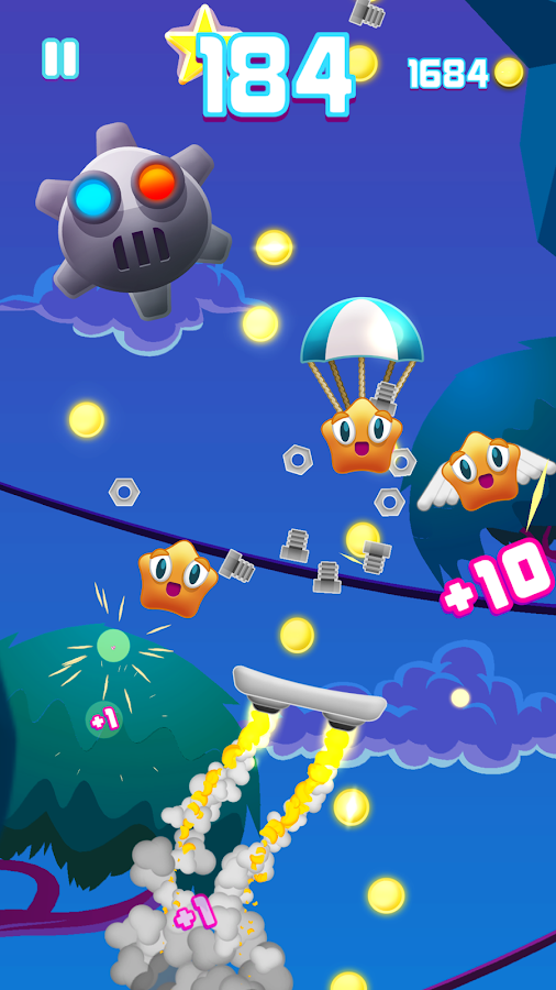 Wobblers- screenshot