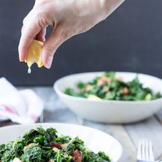 Kale with Bacon and Onions