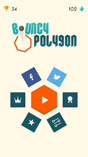 Bouncy Polygon- screenshot thumbnail