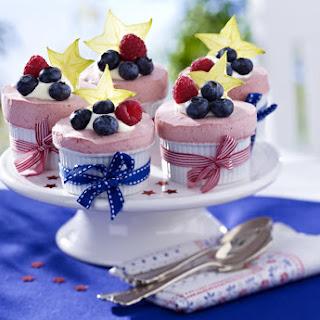 Frozen Berry Soufflés