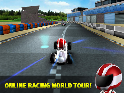 Kart Rush Racing - 3D Online Rival World Tour android2mod screenshots 4