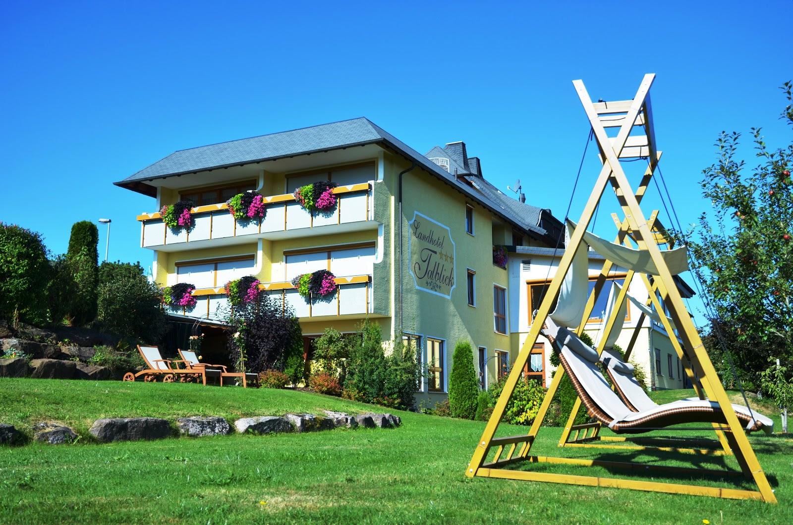 Das Landhotel Talblick im Nördlichen Schwarzwald liegt inmitten unberührter Natur