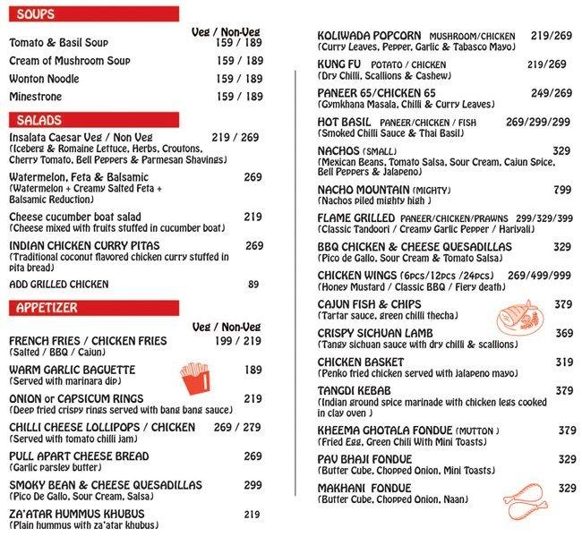 Mighty Small menu 1