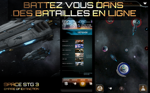 Code Triche Space STG 3 - Stratégie APK MOD (Astuce) screenshots 1