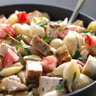 Grilled Chicken Ranch Pasta Salad
