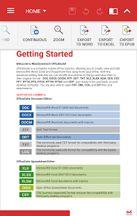 OfficeSuite + PDF Editor Screenshot 4