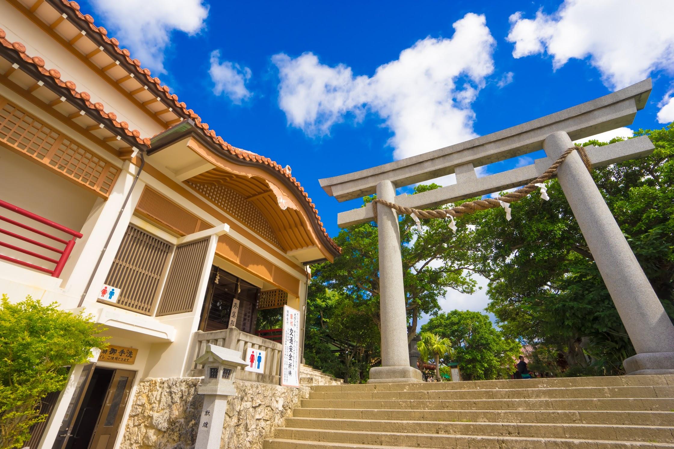Naha Naminoue shrine1