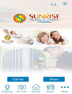 Sunrise Heating & Cooling- screenshot thumbnail