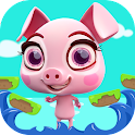 Crazy Piglet Jumping & Flying icon