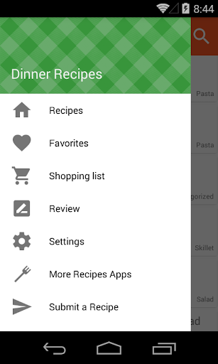 Dinner Ideas & Recipes Screenshot