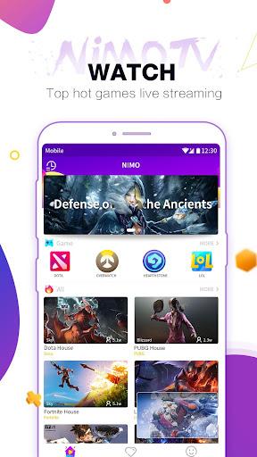 Nimo TV u2013 Watch Game Live Streaming 1.0.4 screenshots 1