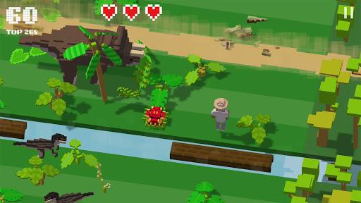 Jurassic Hopper: Crossy Dinosaur Shooter Game 1.2 de.gamequotes.net 2