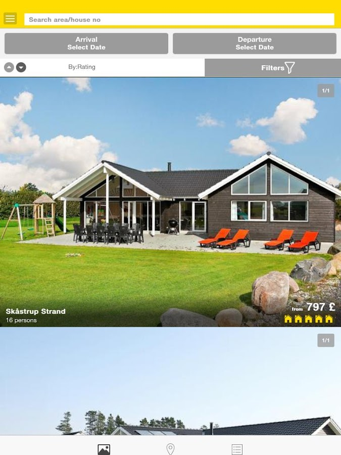 DanCenter – Holiday Rentals- screenshot