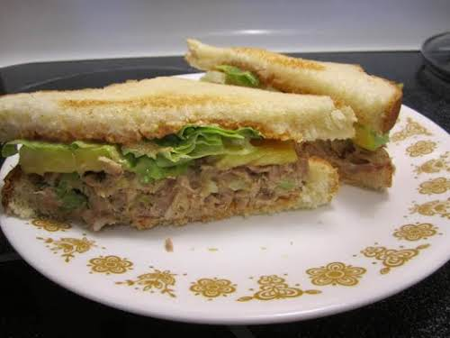 """Sweet and Spicy Tuna Salad Sandwich """"This sandwich is so good you..."""