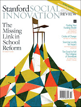 Photo: The print edition of the Fall 2011 issue of the Stanford Social Innovation Review.