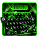 Black Green Crystal Keyboard Theme