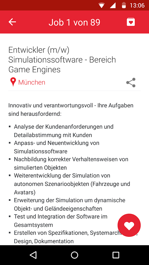 FERCHAU Job - screenshot