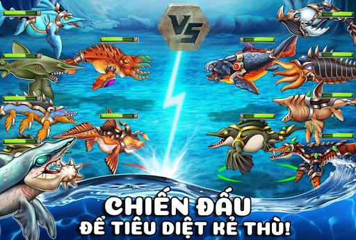 Chiến đấu để tiêu diệt kẻ thù trong game Sea Monster City