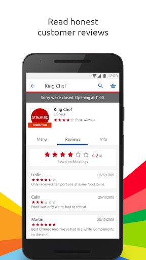 Just Eat - Order Food Delivery  screenshots 4