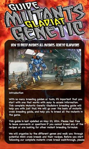 Guide Mutants Genetic Gladiat