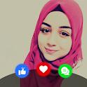 ارقام بنات للتعارف - Fridaychat icon