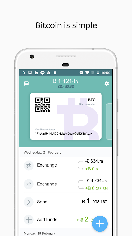 Wirex. Bitcoin Wallet- screenshot