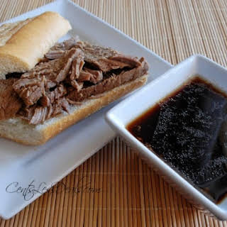 Slow Cooker French Dip.